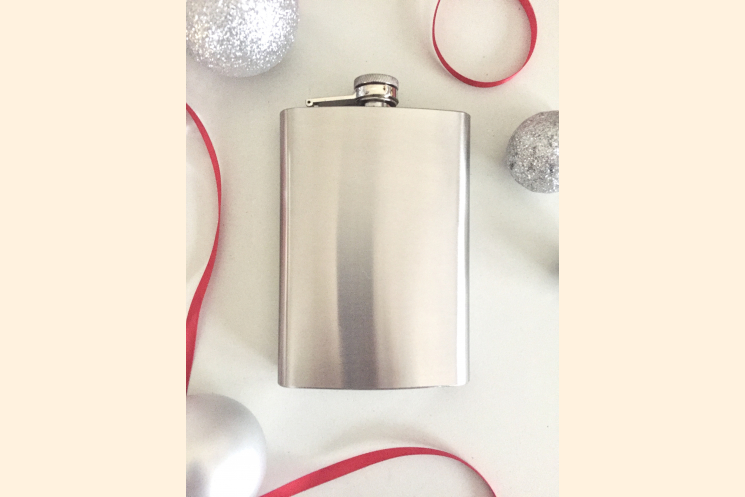 Hip Flask Stainless Steel 8 Ounce