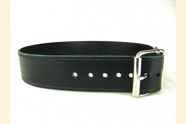 Belt Black Leather Belt Wide Belt Kilt Belt Double Bar Buckle