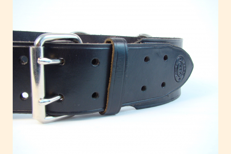 Kilt Belt with Rings and Grommets Left Front View