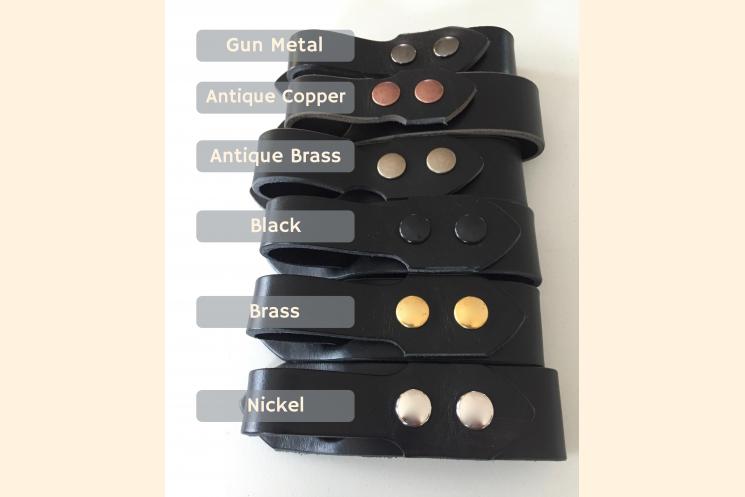 Tankard Strap hardware Choices