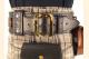 Kilt Belt Double Layer Leather Belt with Brass Buckle Kilt View