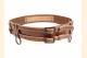 Kilt Belt Double Buckle Brown Storage Loop D Ring Add on Combo Belt