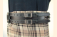 Kilt Belt Double Buckle Black Storage Loop D Ring Combo Kilt View