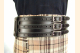 Kilt Belt Triple Buckle Belt Black/NP and  Kilt View