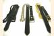 Sporran Belt with Chain Black Nickel and Brass