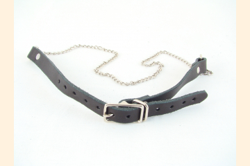 Youth Sporran Belt with Chain Front View