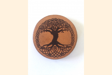 Celtic Tree of Life Magnet with White Background