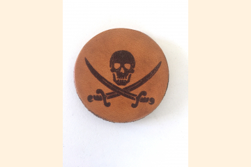 Pirate Magnet with White Background