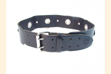 Kilt Belt with Rings and Grommets Front View