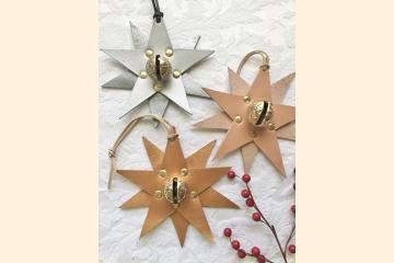 Star Ornaments - Christmas Tree Ornament - Rustic Holiday Decor - Stocking Stuffer - Christmas Gift