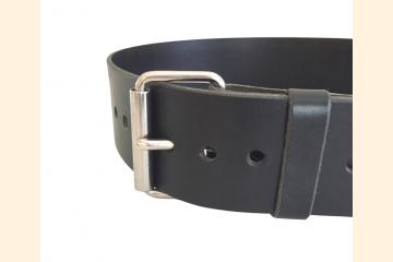 Kilt Belt, Wide Leather Belt, Festival Gear for Scottish Kilt Men, 40th Birthday Gift for Man,