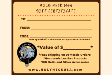 Holy Heck U.S.A. Gift Certificates
