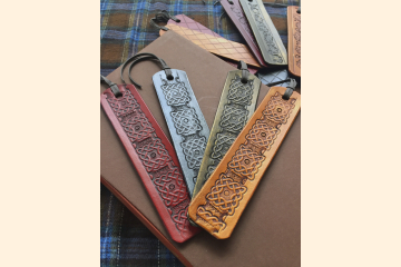 Leather Bookmarks - Book Lover Gift - Literary Gift - Stocking Stuffer - Christmas Gift