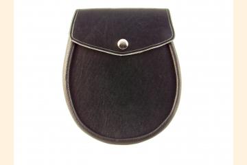 Sporran Leather Sporran Black Sporran Basic Sporran