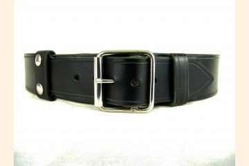 Kilt Belt Black Leather Single Buckle Kilt Belt Vader Cosplay Belt
