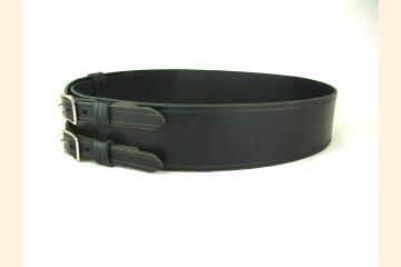 Double Buckle Kilt Belt, Wide Belt to Wear with a Kilt, For Kilt Events and Festivals