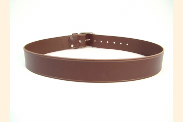 Mens Kilt Belt, Brown 2 or 3 Inch Wide Leather Belt for Festival and Cosplay Costume, 50th Birthday Gift for Men,